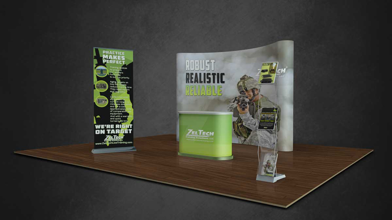 Capital Communications | Custom Booth Collateral & Promotions
