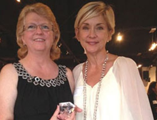 Capital Communications' president honored at Athena PowerLink ceremony